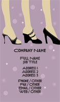 Shoes Business Card Template
